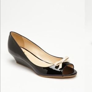 Kate Spade Tracey Peep Toe Wedge Pumps